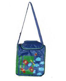 Planet Jashn Sling Bag Aeroplane Print Blue - 12 Inches
