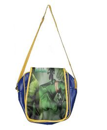 Planet Jashn Hulk Sling Bag Blue Green - 12 Inches
