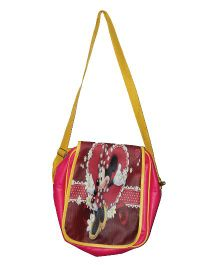 Planet Jashn Minnie Mouse Sling Bag Red Yellow  - 12 Inches