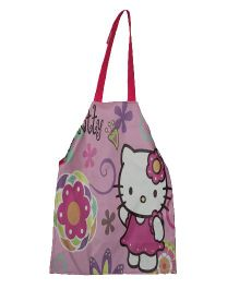 Planet Jashn Hello Kitty Apron Pink - 58 cm