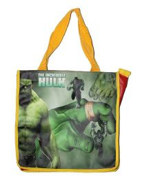 Planet Jashn Hulk Swimming Bag Green Yellow - 13 Inches