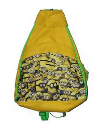 Planet Jashn Minions Haversack Bag Yellow - 19 Inches