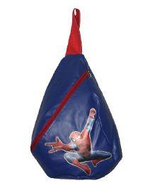 Planet Jashn Spider Man Haversack Bag Blue - 19 Inches