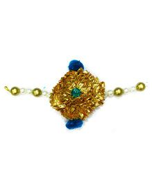 Little Pockets Store Royal Gota Work Bracelet - Blue