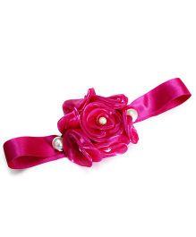 Little Pockets Store Big Floral Corsage - Pink