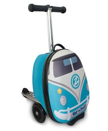 Zinc H2O Mini Flyte Scooter Cum Trolley Bag - Blue