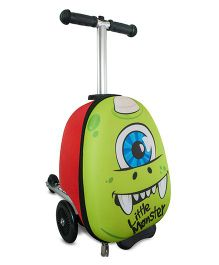 Zinc Sid The Cyclops Mini Flyte Scooter Cum Bag - Green Red