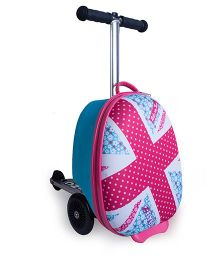 Zinc Daisy Mini Flyte Scooter Cum Bag - Blue Pink