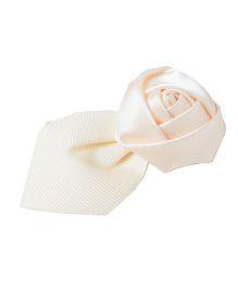 Pikaboo Rose Petal Hair Clip - Cream