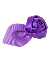 Pikaboo Rose Petal Hair Clip - Purple