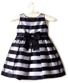 Nitallys Striped Dress - Black