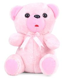 IR Carpet Fur Teddy Bear Pink - Height 21 cm