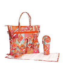 Forefinger Solutions All Day Mother Bag - Orange