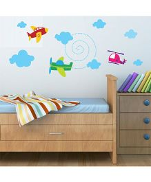 Chipakk Planes HD Kids Room Wall Decal - Multicolor