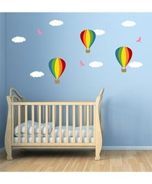 Chipakk Hot Air Balloons HD Kids Room Wall Decal - Multicolor