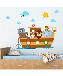 Chipakk Animal Pirates HD Quality Kids Room Wall Decal - Multicolor