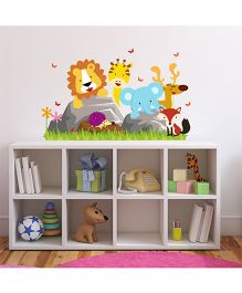Chipakk Animals Theme HD Quality Kids Room Wall Decal - Multicolor