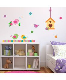 Chipakk Bird House HD Quality Kids Room Wall Decal - Multicolor
