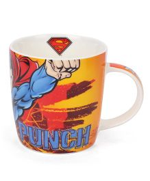 B Vishal Super Man Mug Multi Color - 300 ml