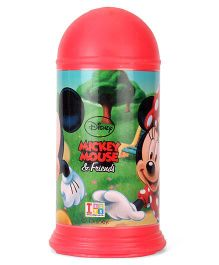 Disney Mickey Mouse And Friends Coin Bank - Red