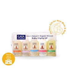 Gaia Natural Baby Starter Kit - 250ml