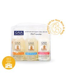 Gaia Natural Baby Mini Traveller Pack - 150 ml
