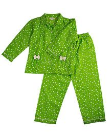 Cuddle Up Starry Night Suite For Girls - Green