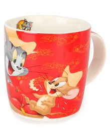 B Vishal Tom And Jerry Logo Mug Red - 300 ml