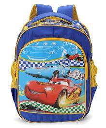Disney Cars Kids School Bag Blue - 15 Inches