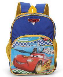 Disney Pixar Cars Kids School Bag Blue  - 14 Inches