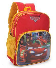 Disney Pixar Cars Kids School Bag Red - 14 Inches