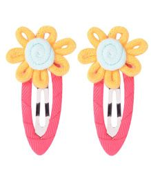 Miss Diva Hand Crafted Flower Tic Tac Set - Yellow