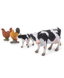 Collecta Farm Animals Open Box Set Multicolor - Pack Of 4