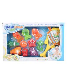 Comdaq Bathtime Fun Bath Toys Multicolor - 11 Pieces