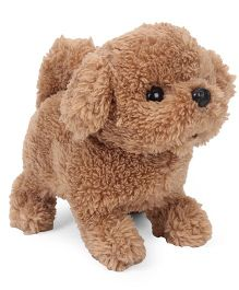 Comdaq Movers And Shakers Baby Poodle Dog - Brown