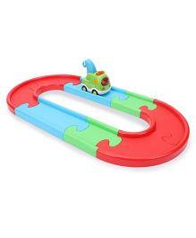 Comdaq Preschool Rail Track Set Small - Multicolor