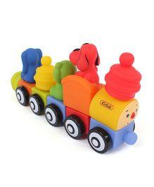 K's Kids Popbo Train Set  Multicolor - 10 Pieces