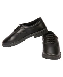 Rex School Shoes - Black