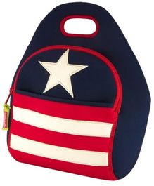 Star And Stripes Kids Lunch Bag