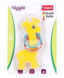 Funskool Giggles Giraffe Rattle - Yellow