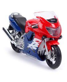 Maisto Honda Die Cast Cbr 600F Bike Toy - Red And Blue