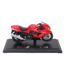 Maisto Kawasaki Ninja ZX 14 Die Cast Bike - Red