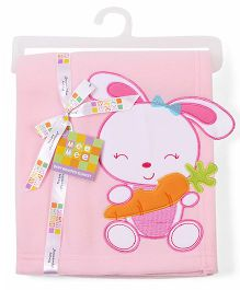 Mee Mee Blanket Bunny Patch MM 33040 A - Pink