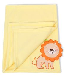 Mee Mee Blanket Lion Patch MM 33040 A - Yellow