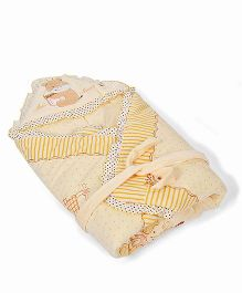 Mee Mee Printed Blanket MM 98069A - Cream