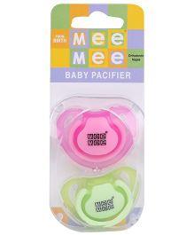Mee Mee Baby Pacifier MM - 3755C - Pink Green