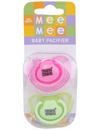 Mee Mee Baby Pacifier MM - 3755D - Pink Green