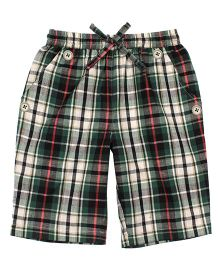 Shoppertree Checkered Shorts - Multicolor
