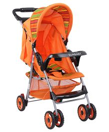 Sunbaby Buggy Stroller SB 600A - Orange