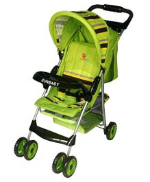 Sunbaby Baby Buggy Cum Stroller SB 600A - Green